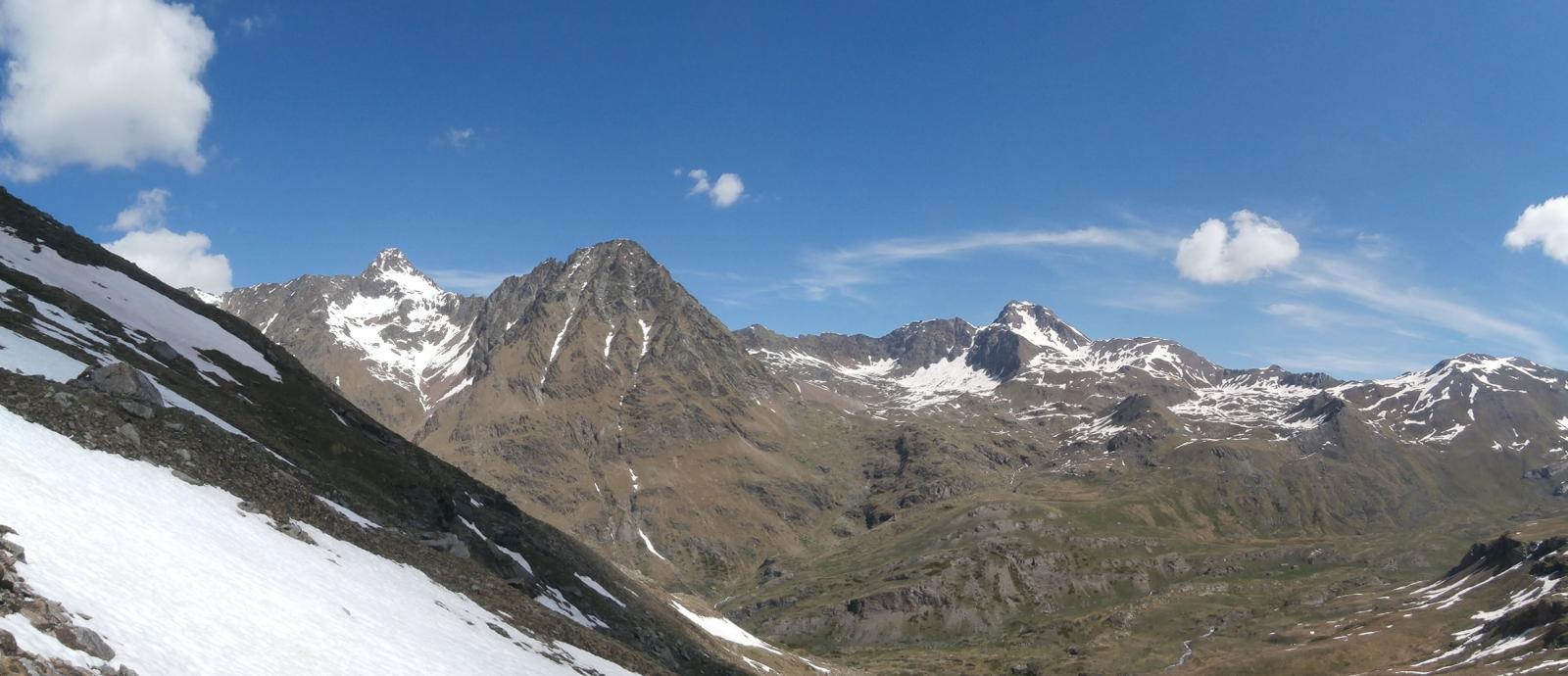 panorama  sulla Garin e sulla Leppe dalla Creya...
