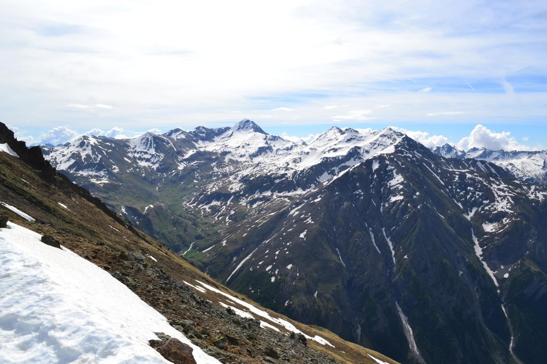 panorama sulla Tersiva dalla cima