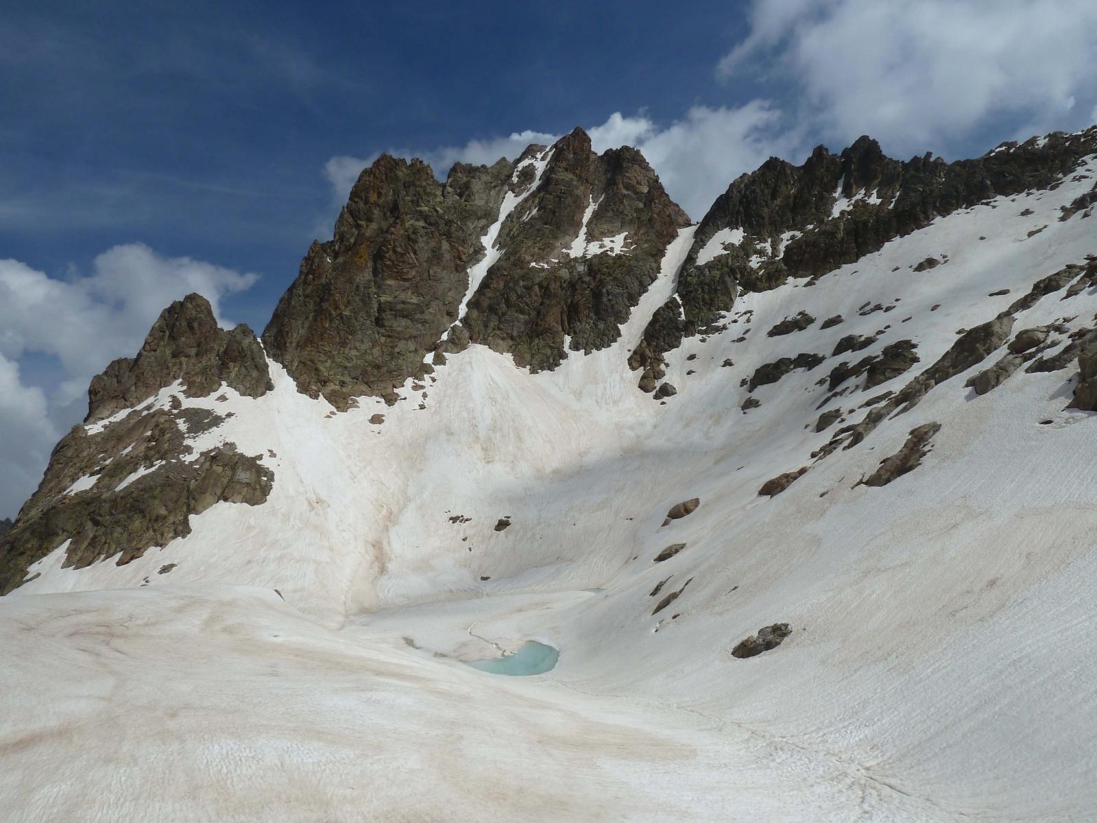 Cima e lago di Nasta