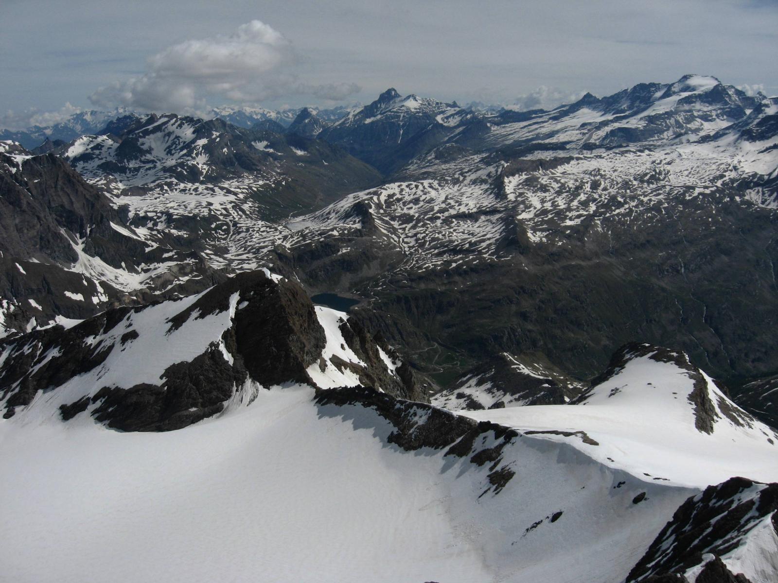 Situazione neve e gran bella vista