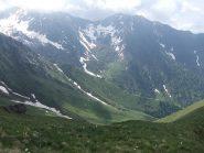 vista sul vallone di Servino