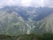 vista sul vallone di Piamprato