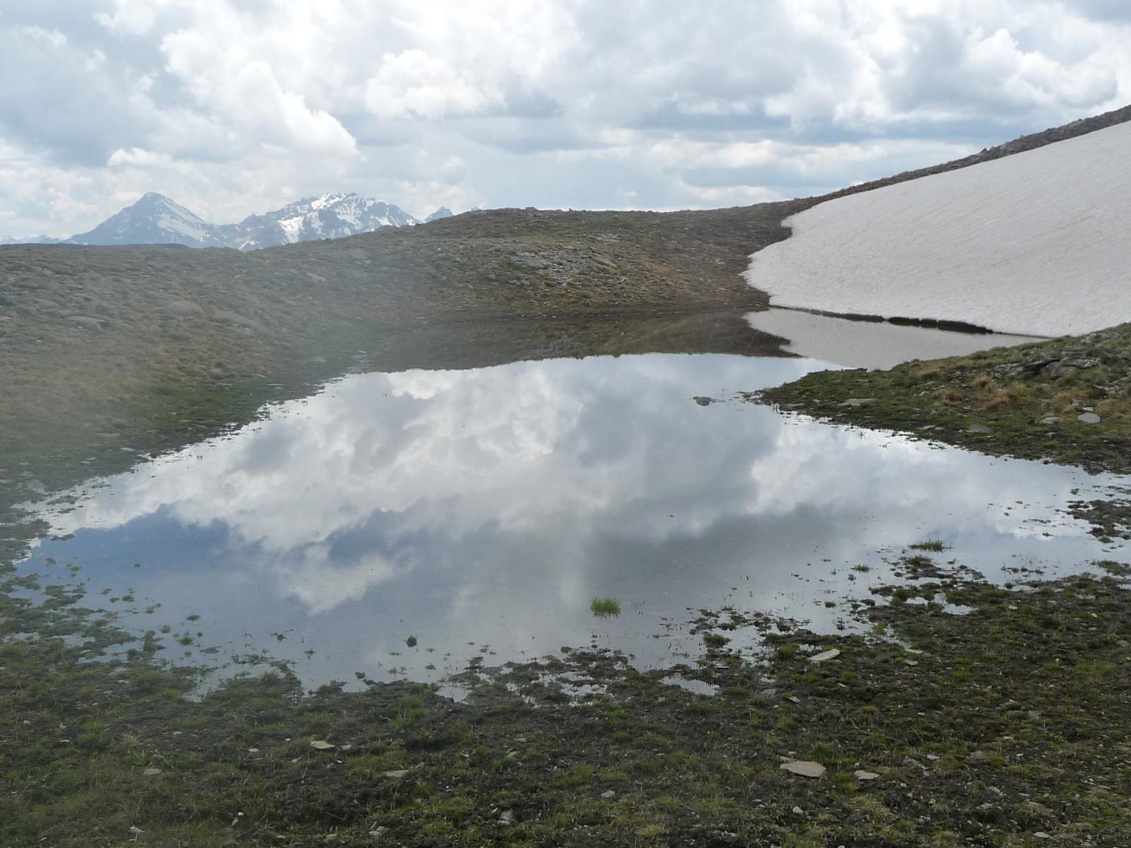 laghetto a 2700 m nel vallone di Valfredda