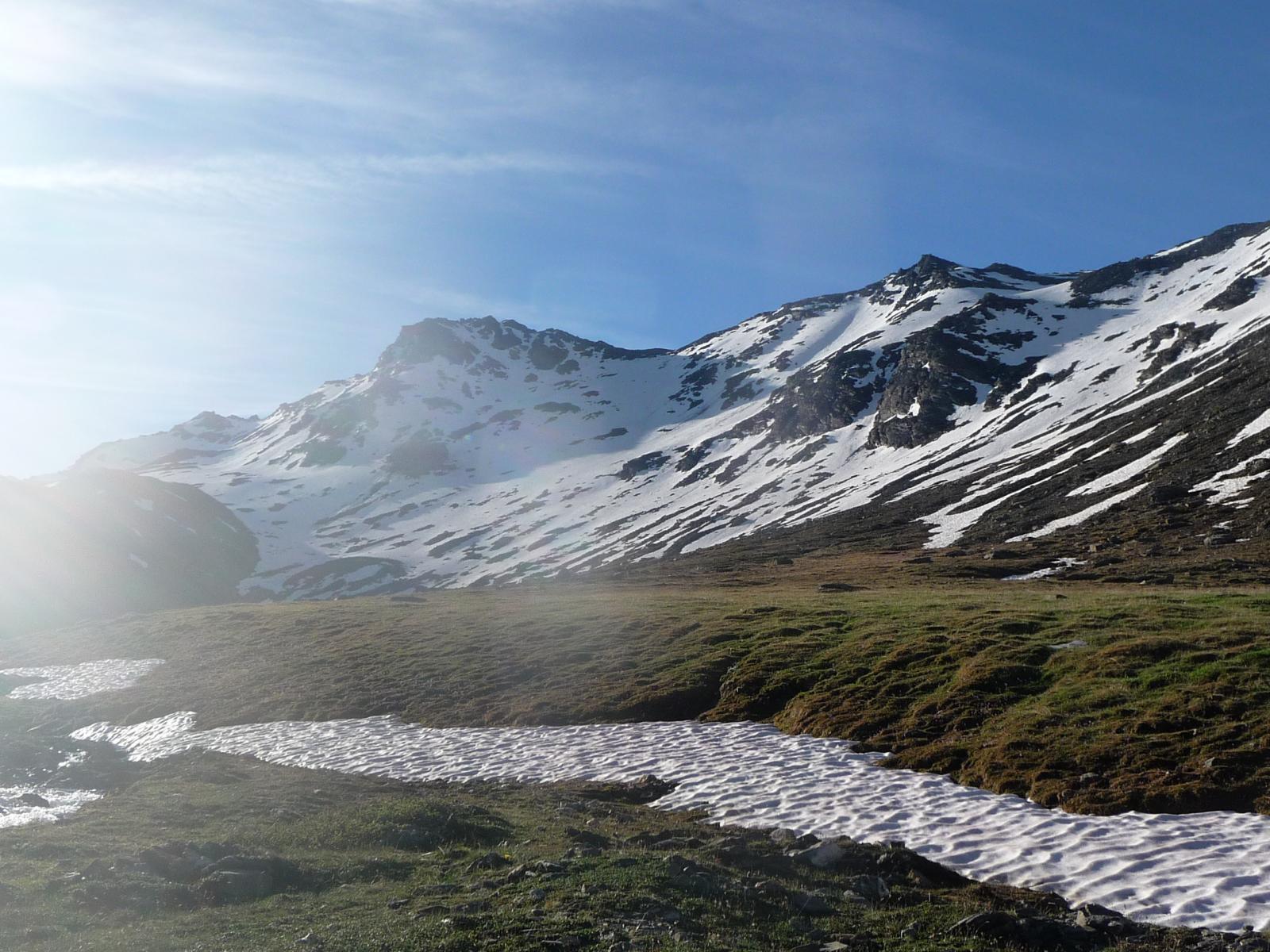 pianoro a 2500 m.nel vallone d'Almiane