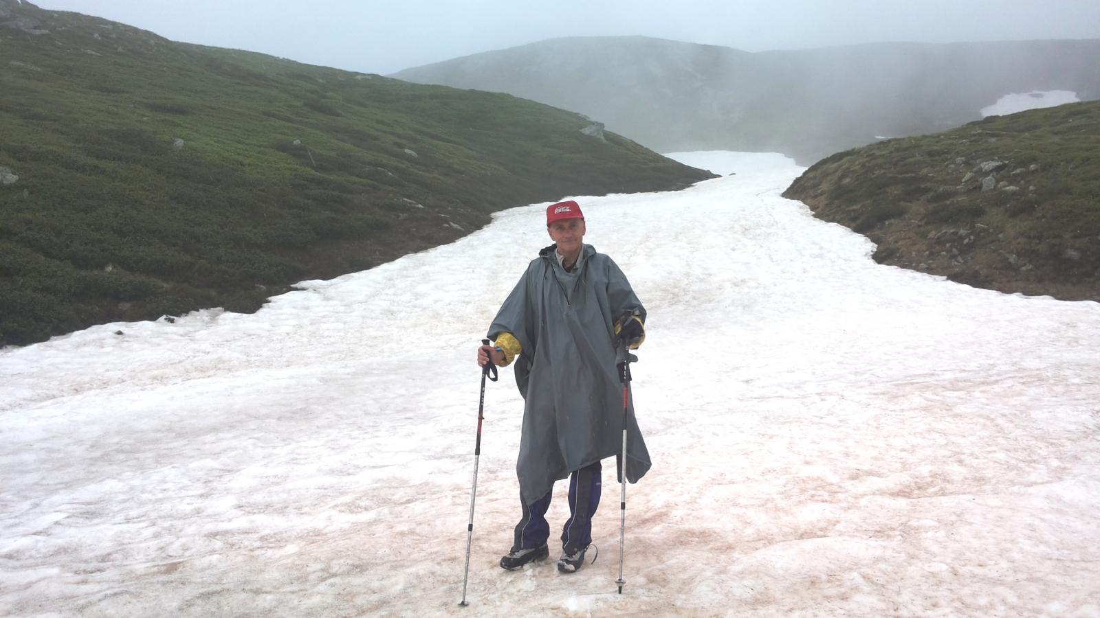 un altro esteso nevaio a Li Piani