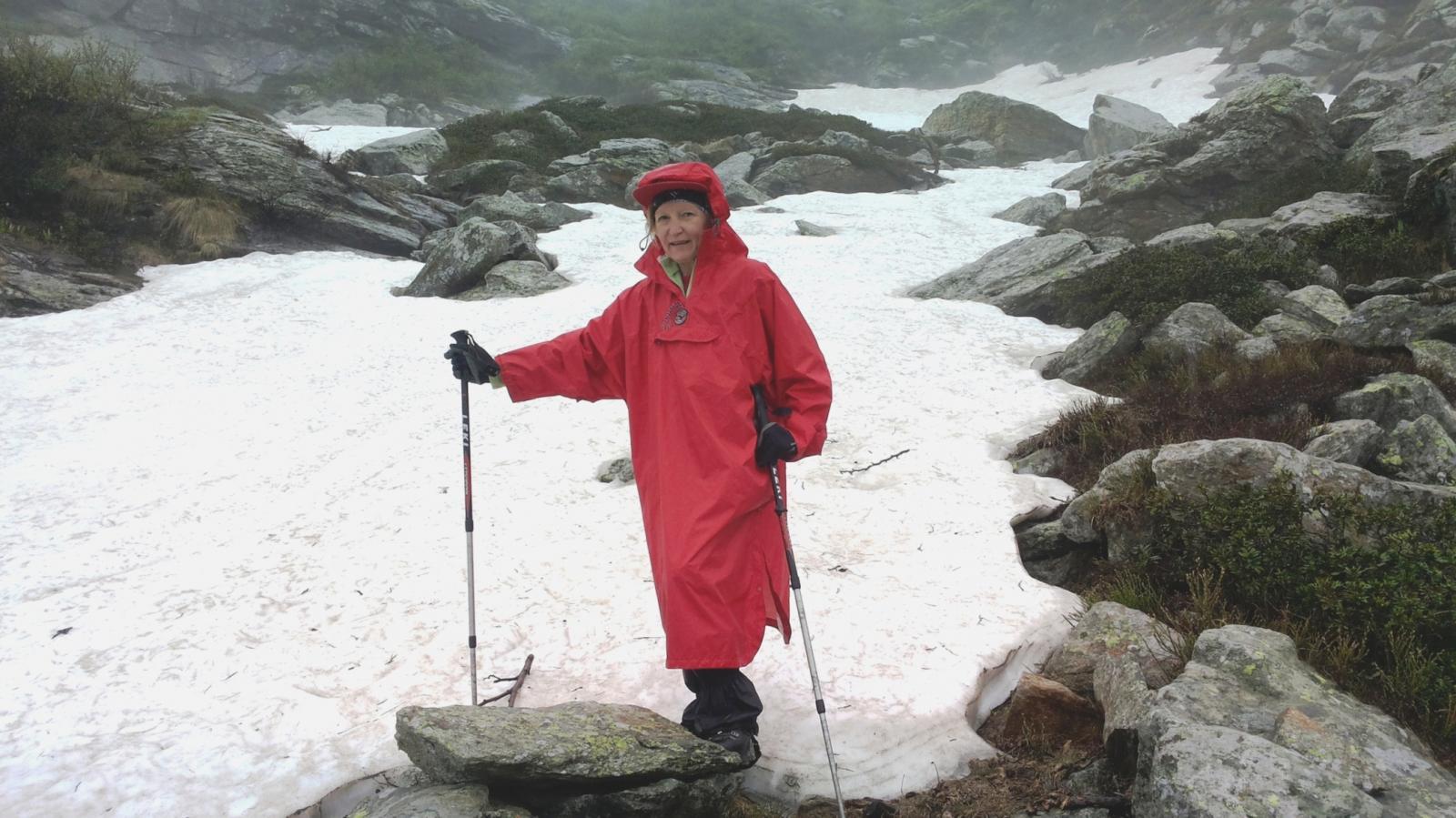 ancora nevai sul percorso