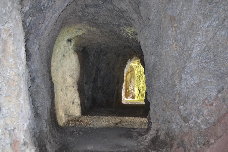 scorcio all'interno del Forte di Vallalta