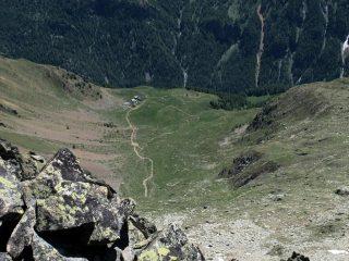 Alpe La Tsa dalla vetta