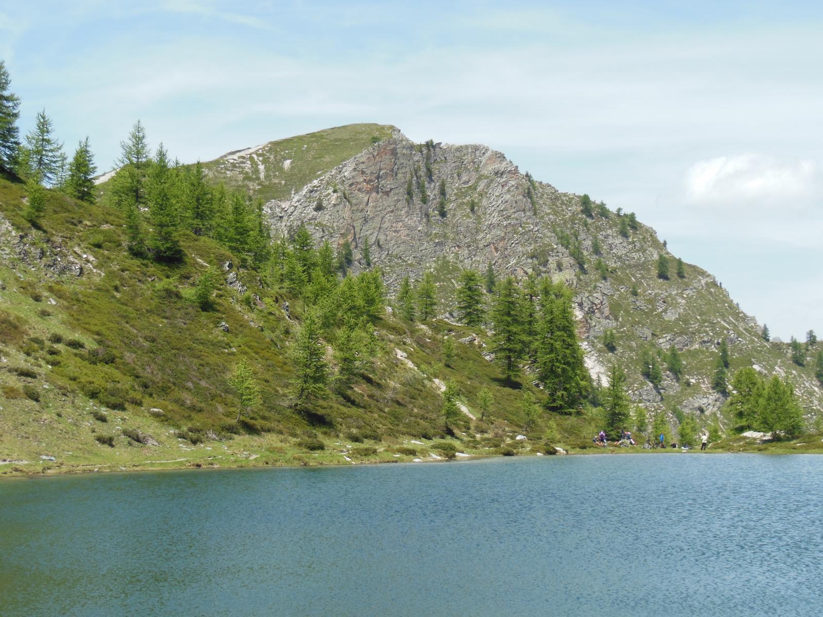 Monte Bert dal Lago di Canosio