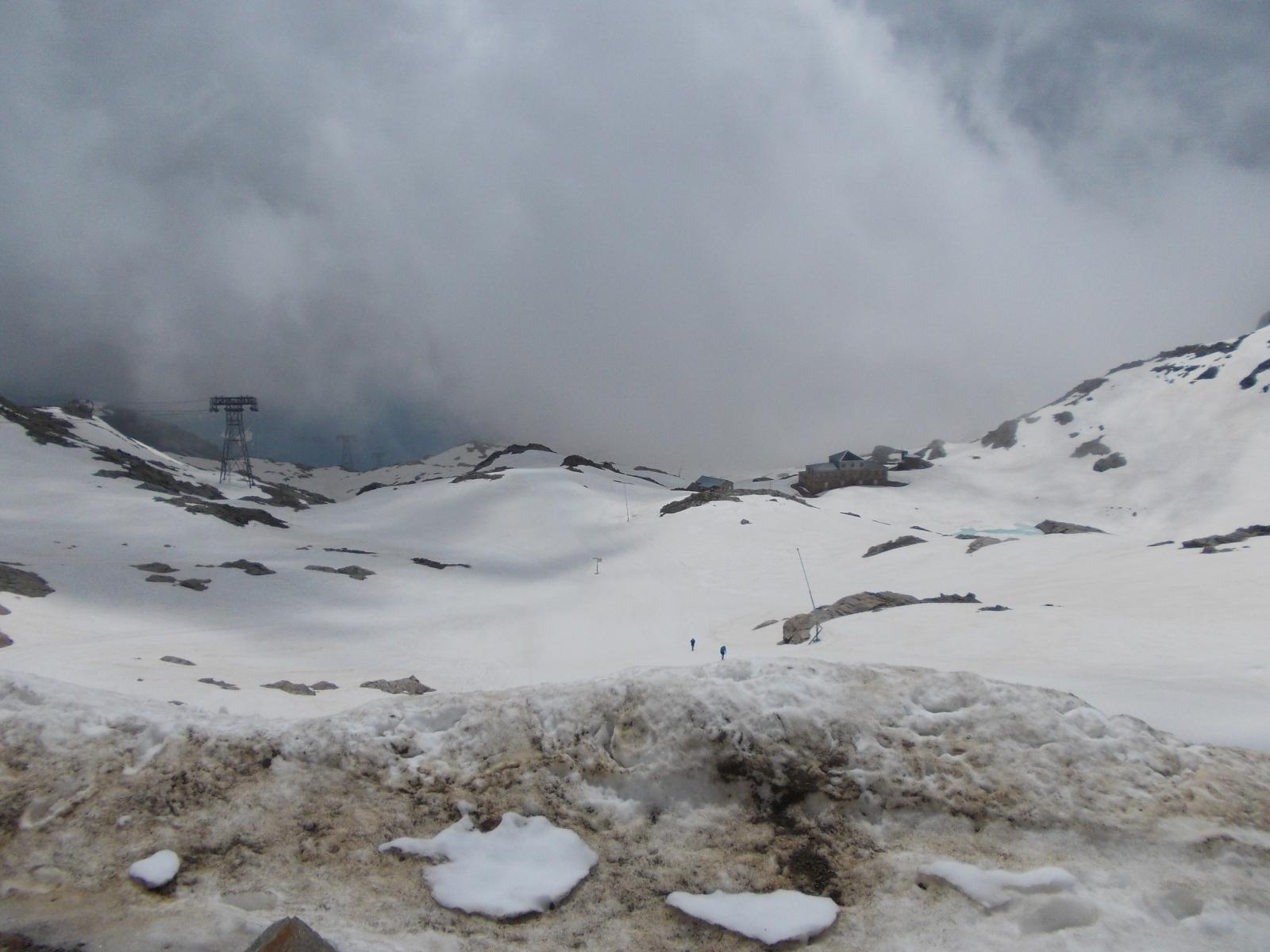 Situazione neve al passo dei Salati