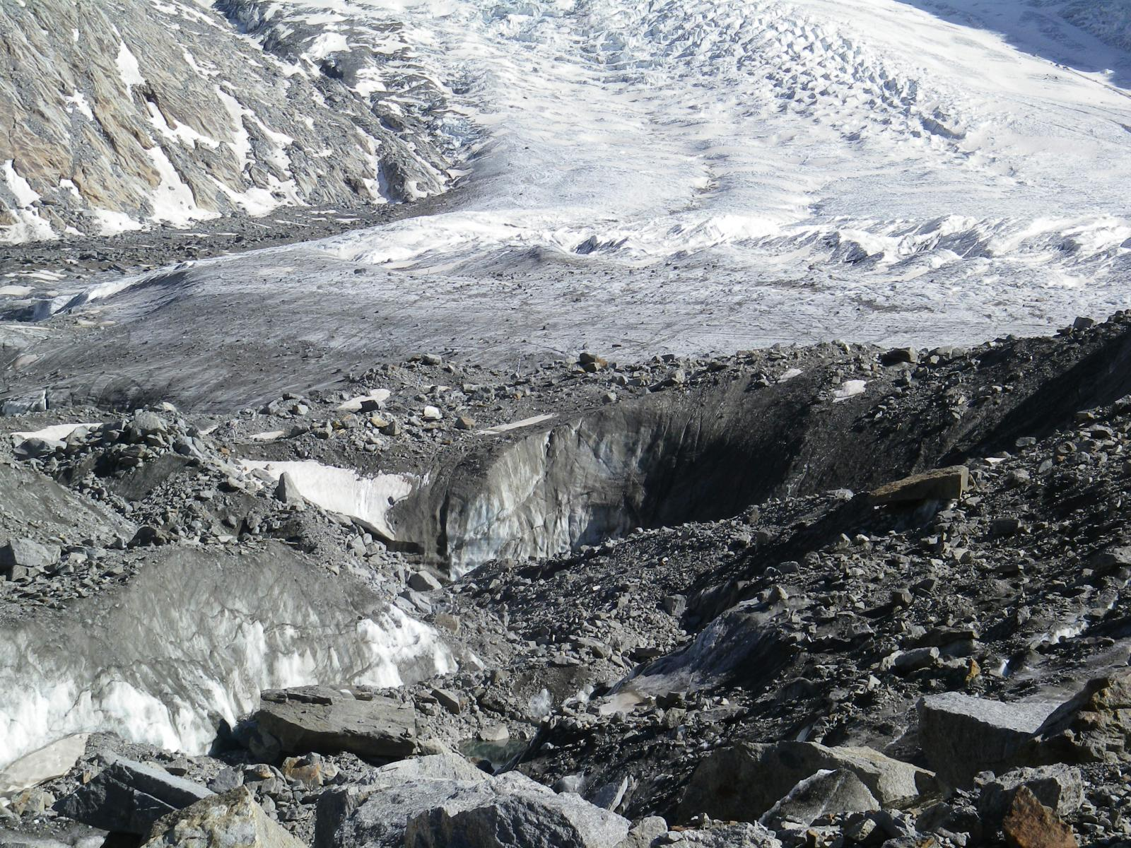 tra i ghiacci e le pietre