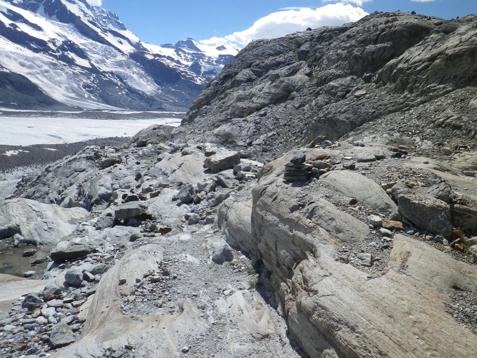 tra le rocce prima dei salti