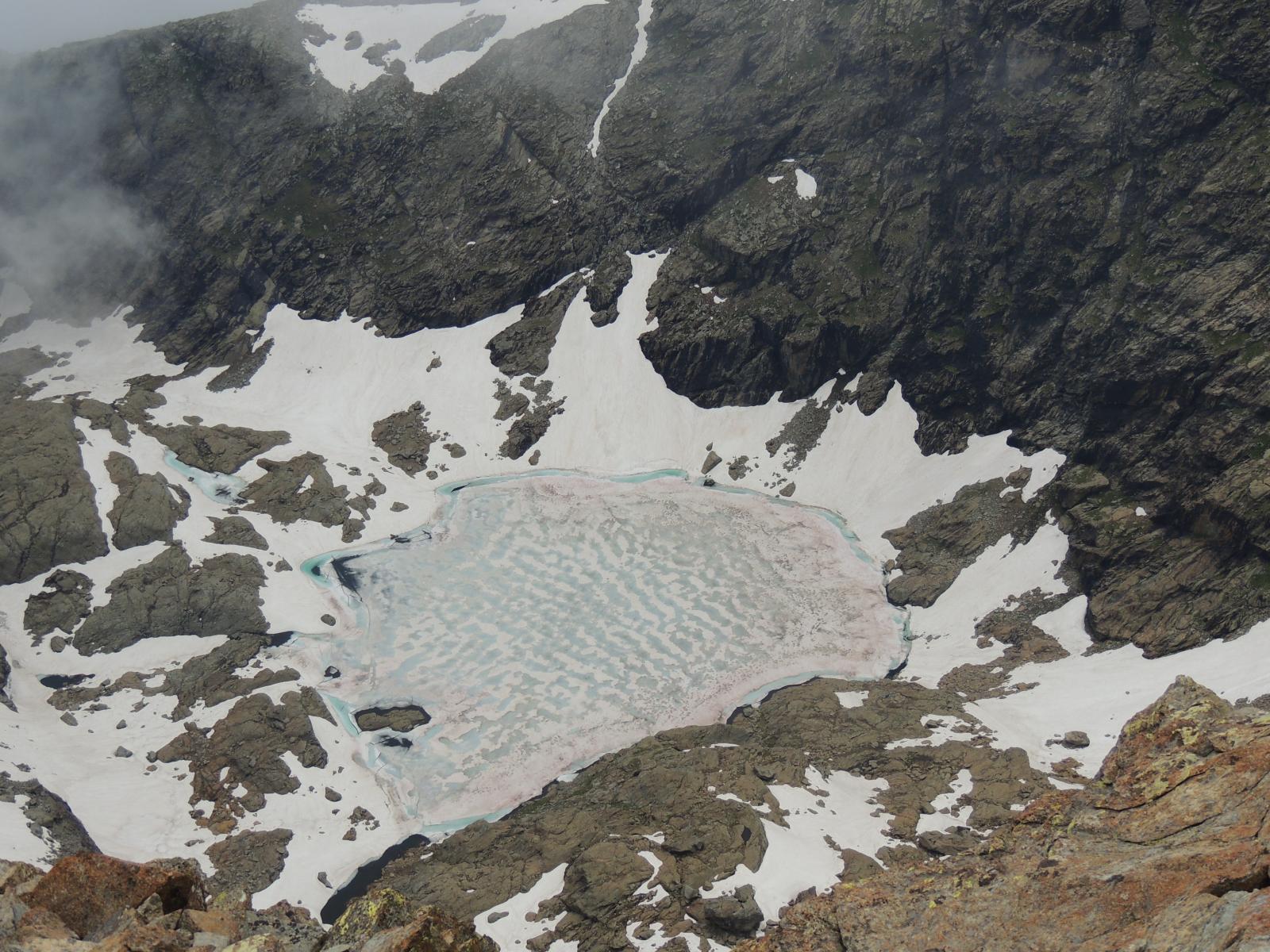 lago mercurin dalla vetta