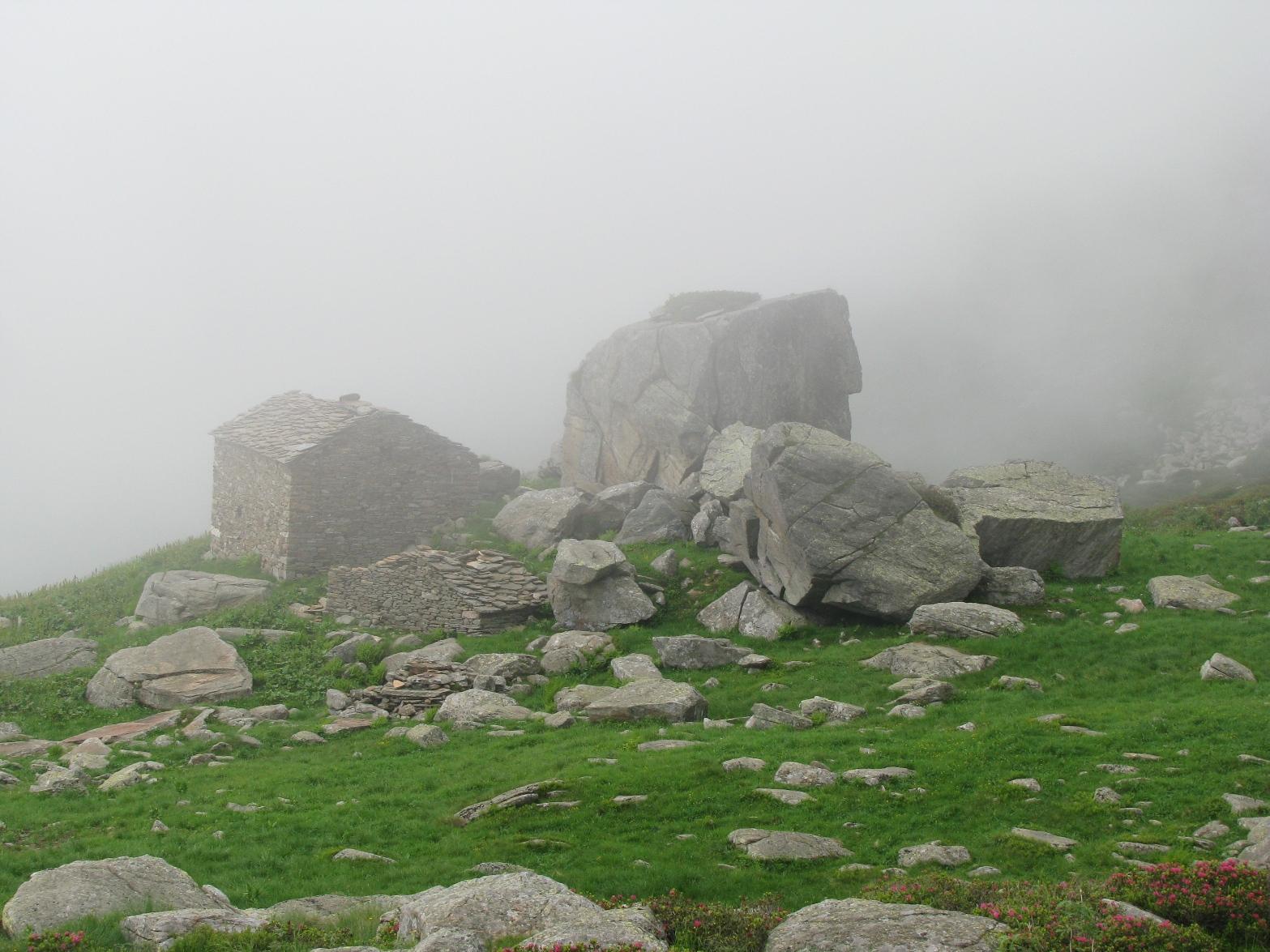 Alpe Granairolo ed il caratteristico Cubo