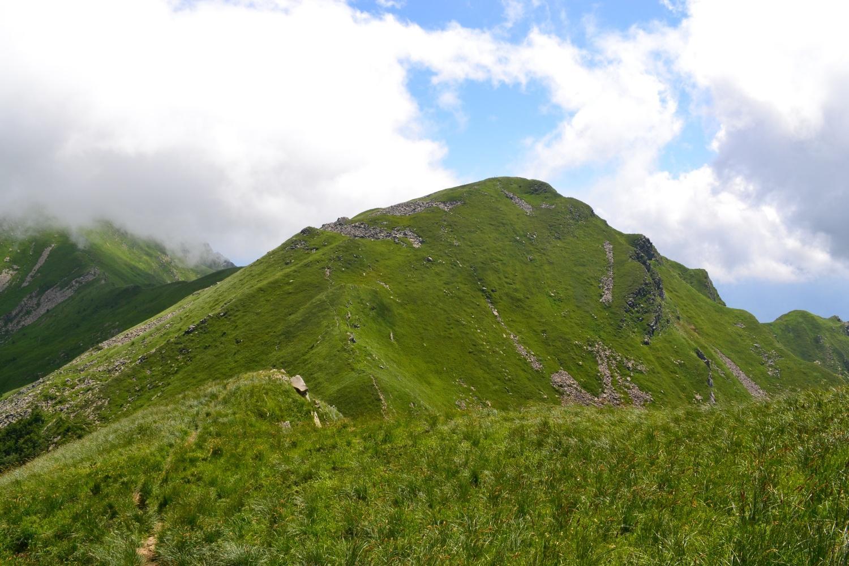 in direzione del Monte Braiola