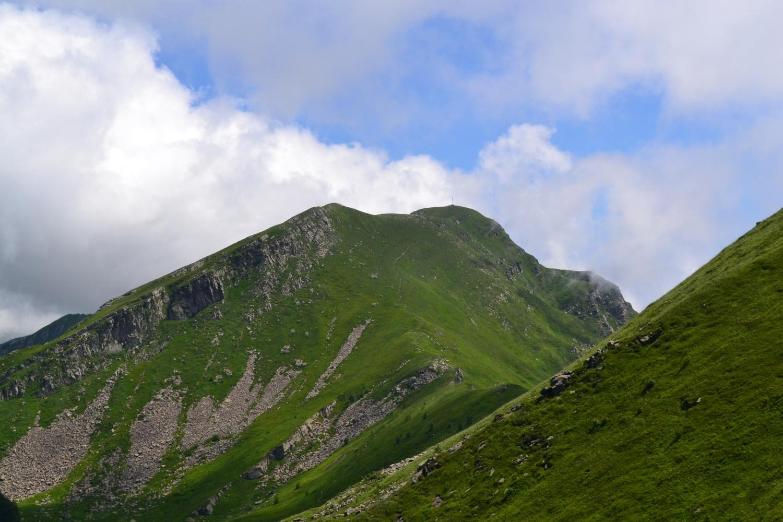Monte Marmagna visto salendo al Braiola