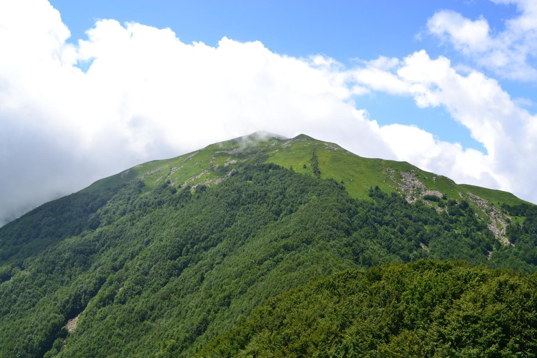 Monte Orsaro visto dalla vetta del Fosco