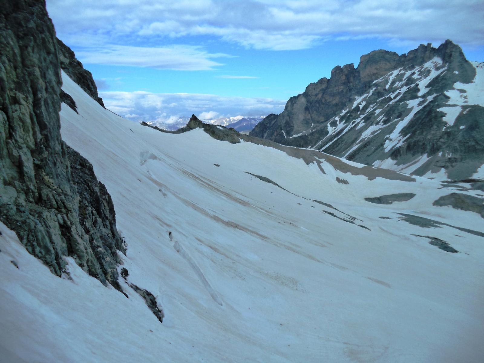 ghiacciaio del sommeiller e rognosa