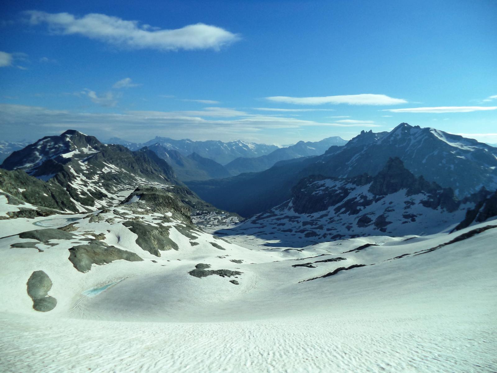 ambiente ghiacciaio del sommeiller