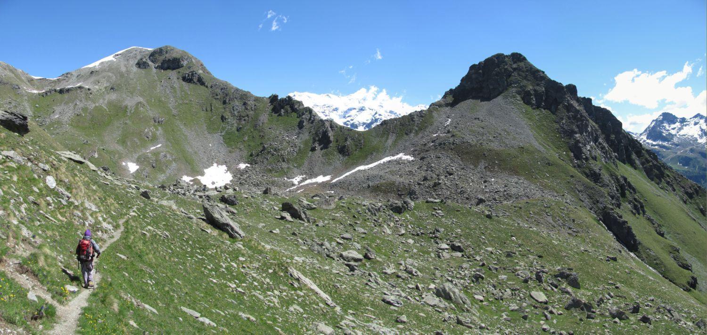sulla sinistra il Monte Croce