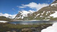 La Basei vista dal lago Leità