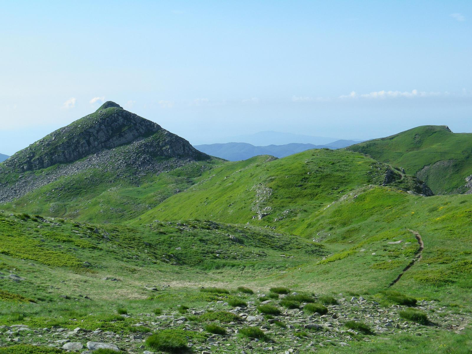il monte Tauffi si avvicina