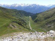 13 - Planaval vista dall'alpeRantin