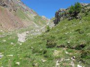 A monte dell'Alpe Pra de Dieu