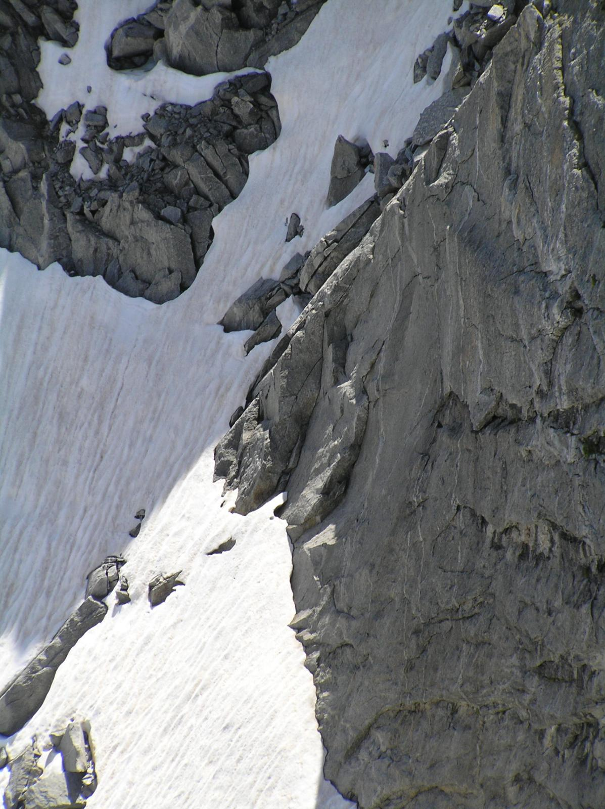 Versante Val Masino del Passo di Vedretta