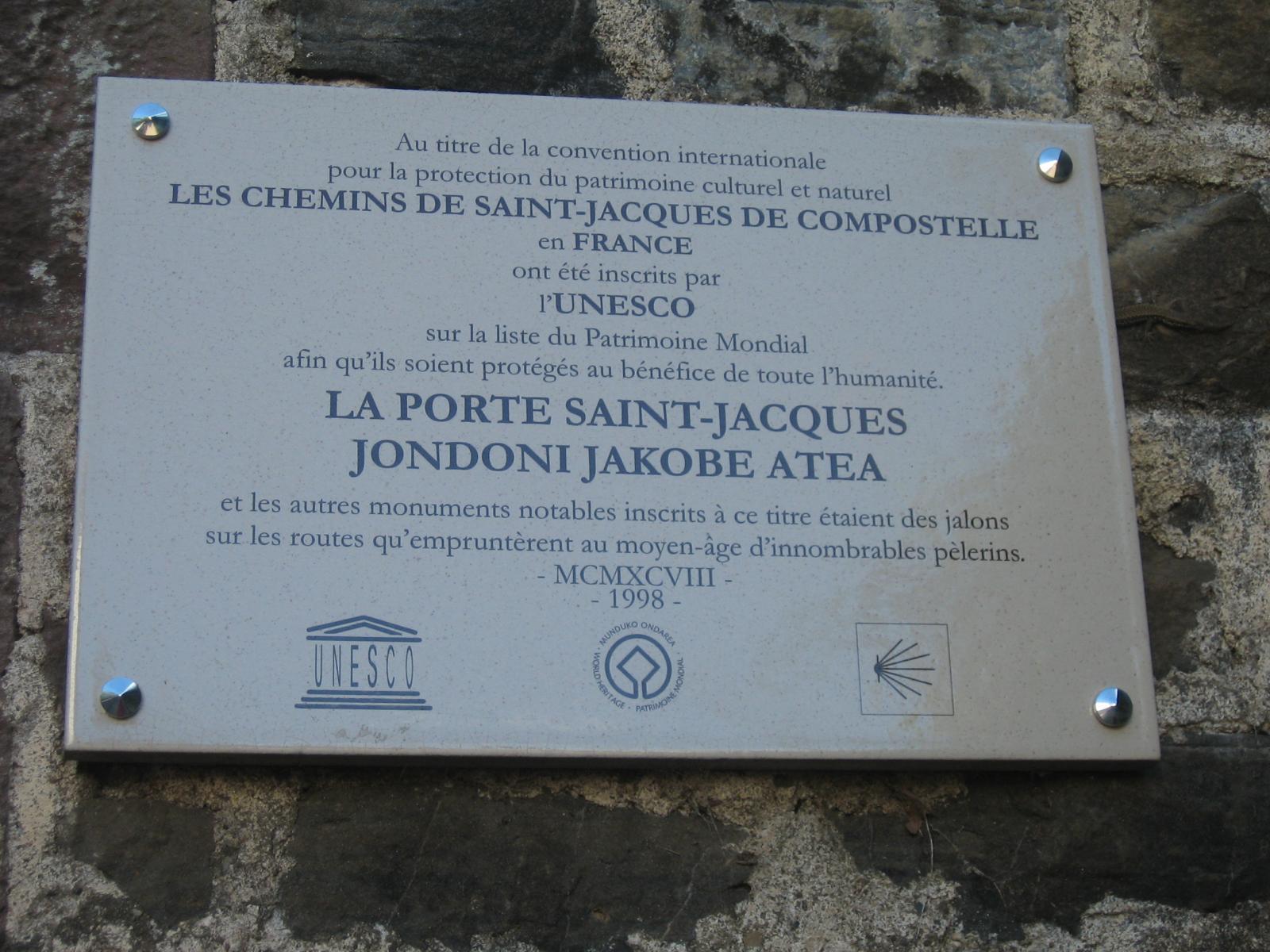 Partenza da Saint Jean
