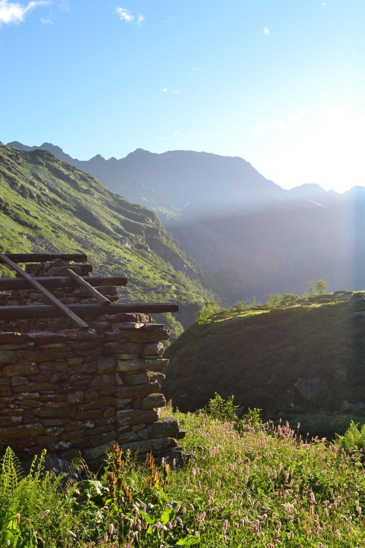 alle baite di Cavanne (1500 m)