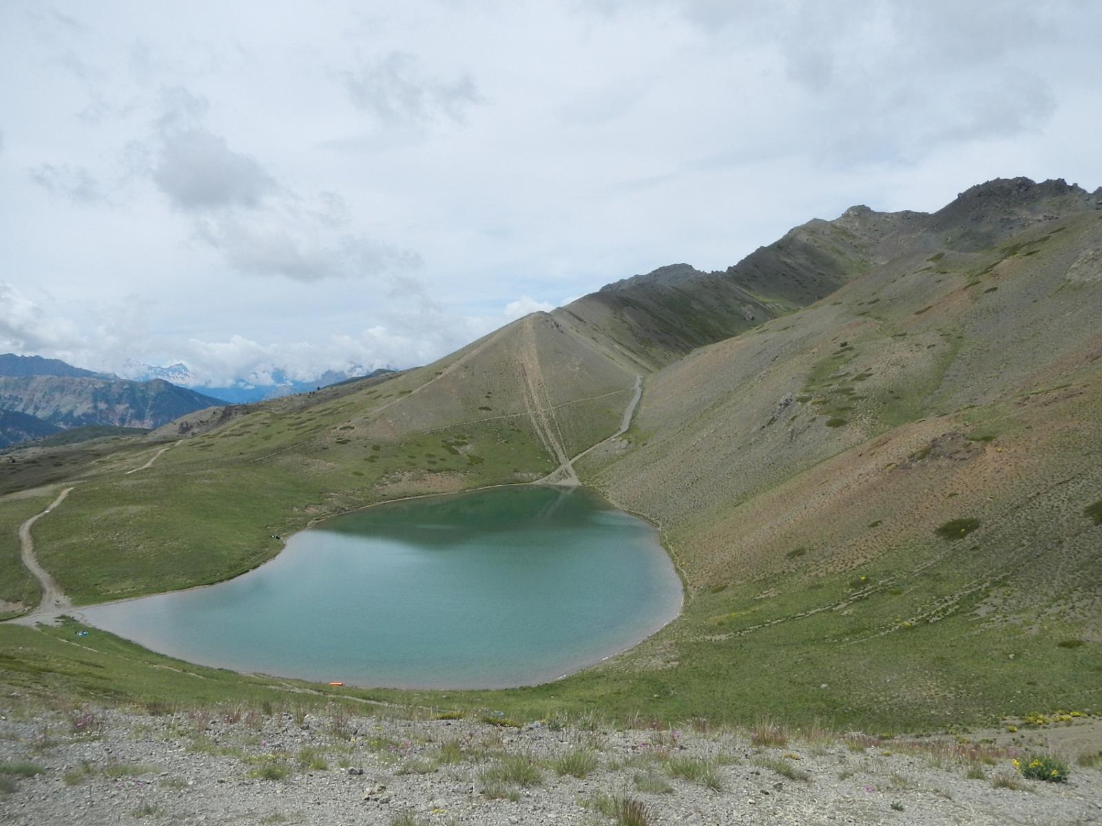 lac Gignoux o dei Sette Colori 2329 m.