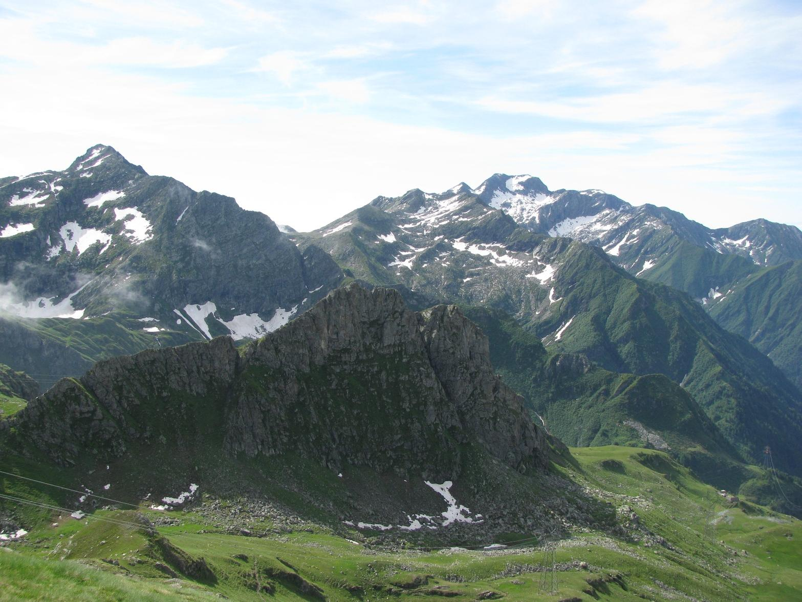 Panorama su M.Marzo e Monfandì