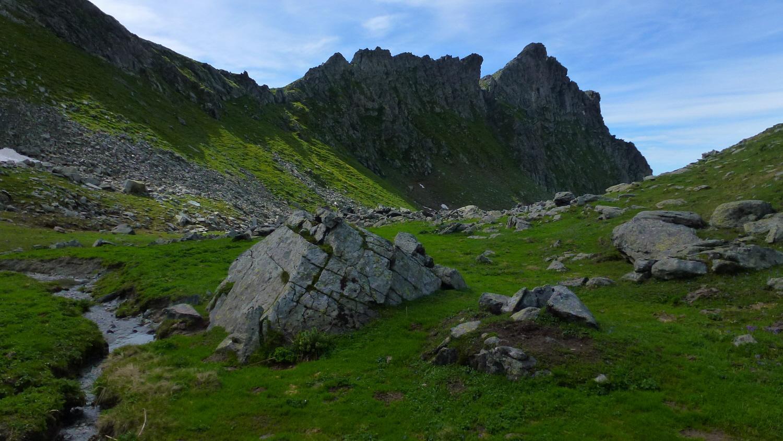 Colletto Teppon e Cresta del Belvedere