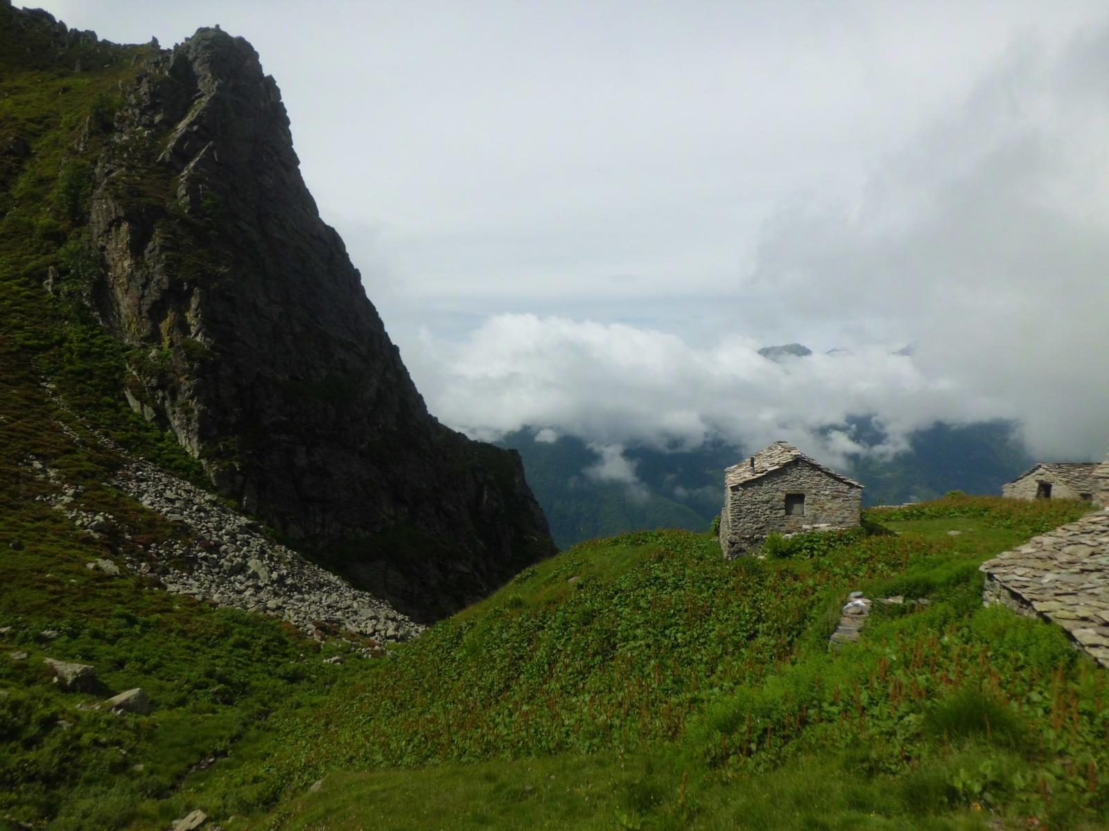 Scorcio dall' Alpe Paglia