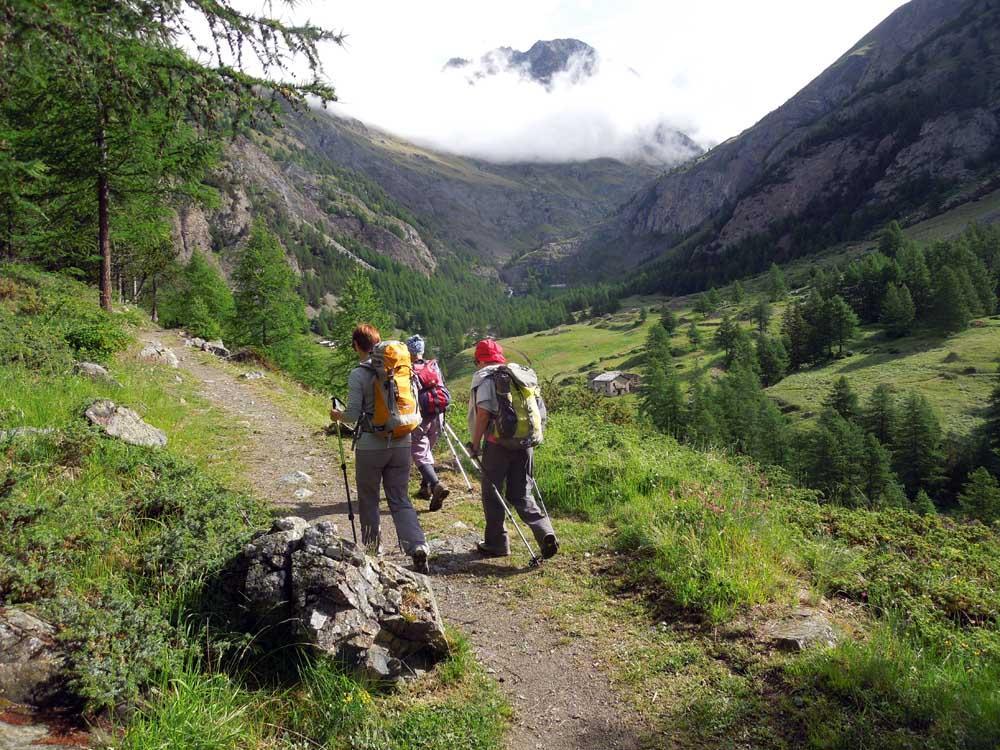Muggia-Glarey (Bivacco) al Vallone Grauson da Gimillan 2014-07-05