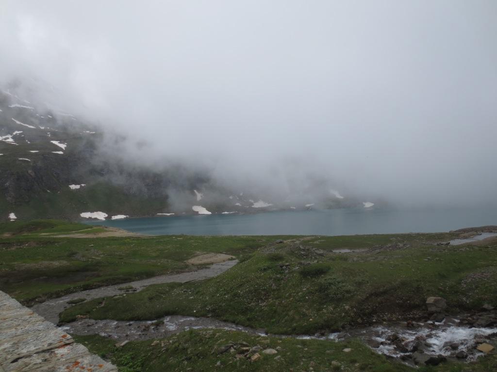 nebbie al Lago Castel