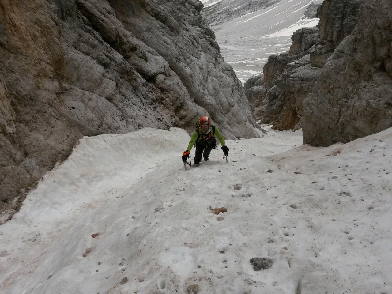 Cristallo (Monte) Canale Vallencant 2014-07-06