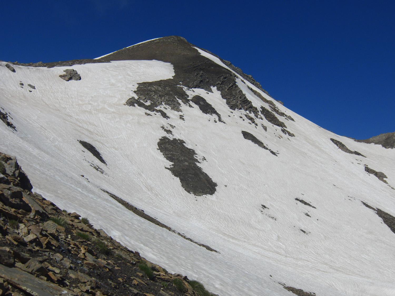 Pendii finali del Pic Blanc