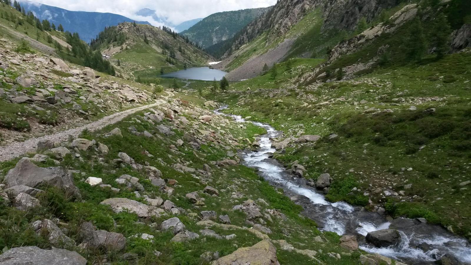 Il Lago di San Bernolfo nel Vallone di Collalunga