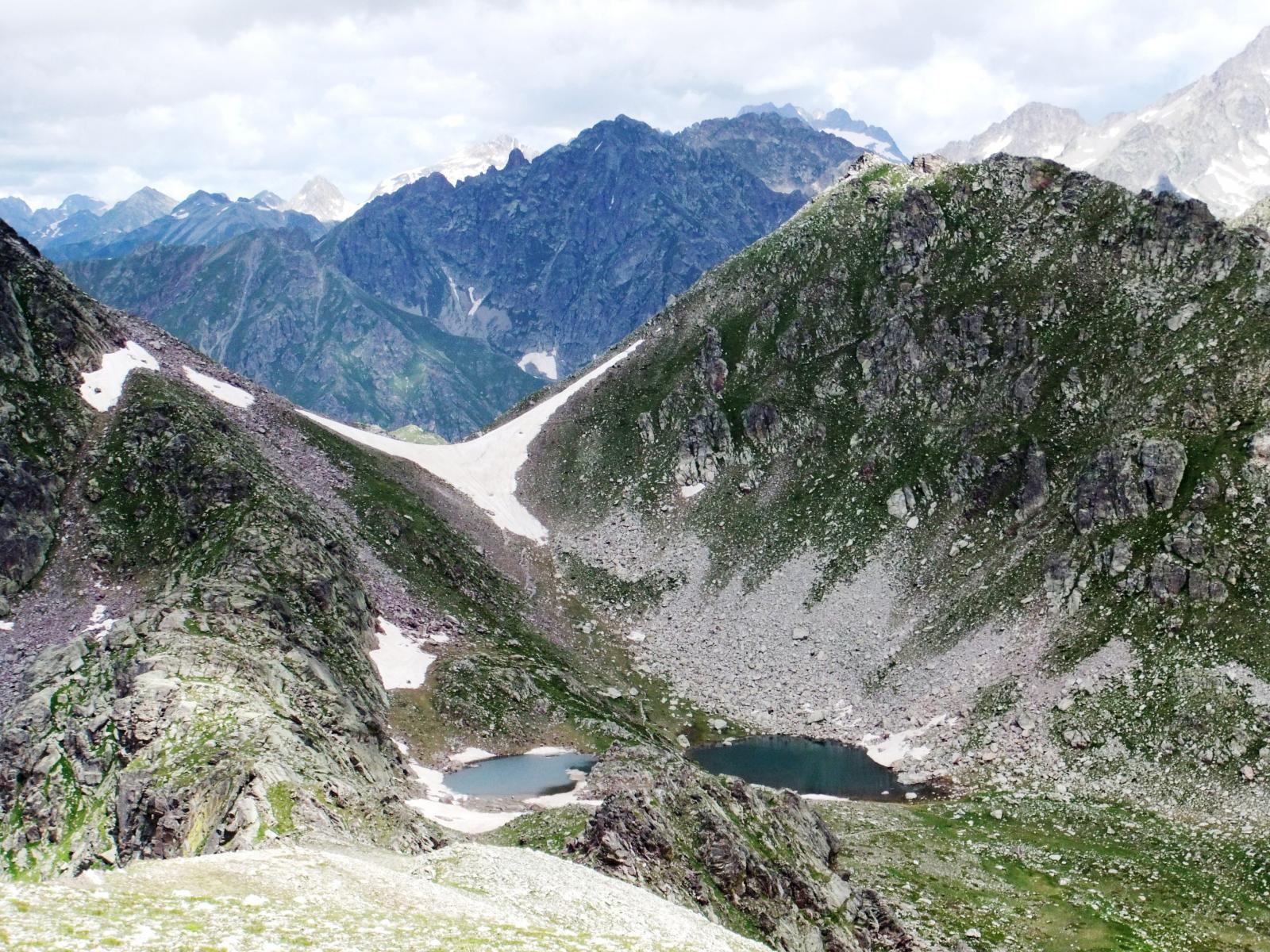I due Lacs du Diable e il Passo del Trem dal Macruera