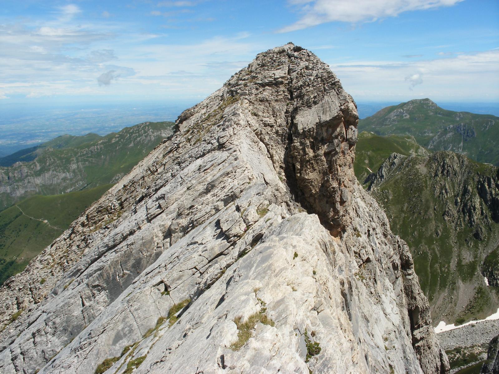 la cresta Tino Prato