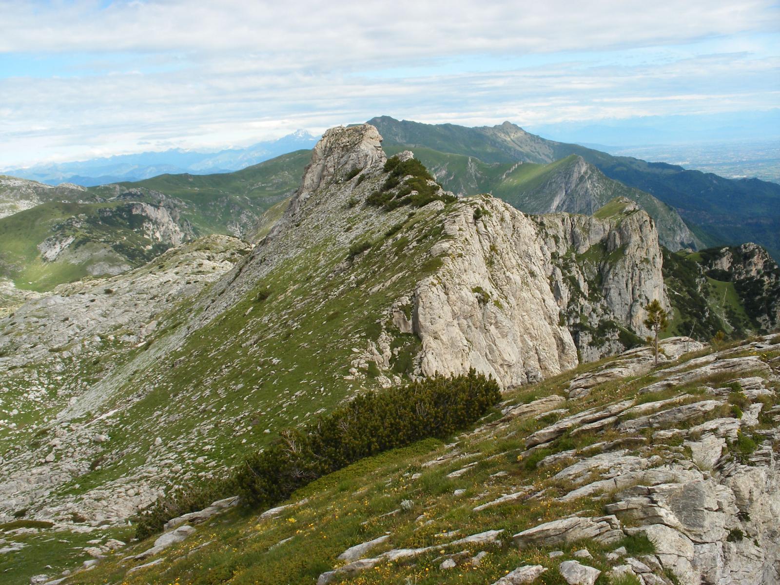 cima di Piero e cresta seguita