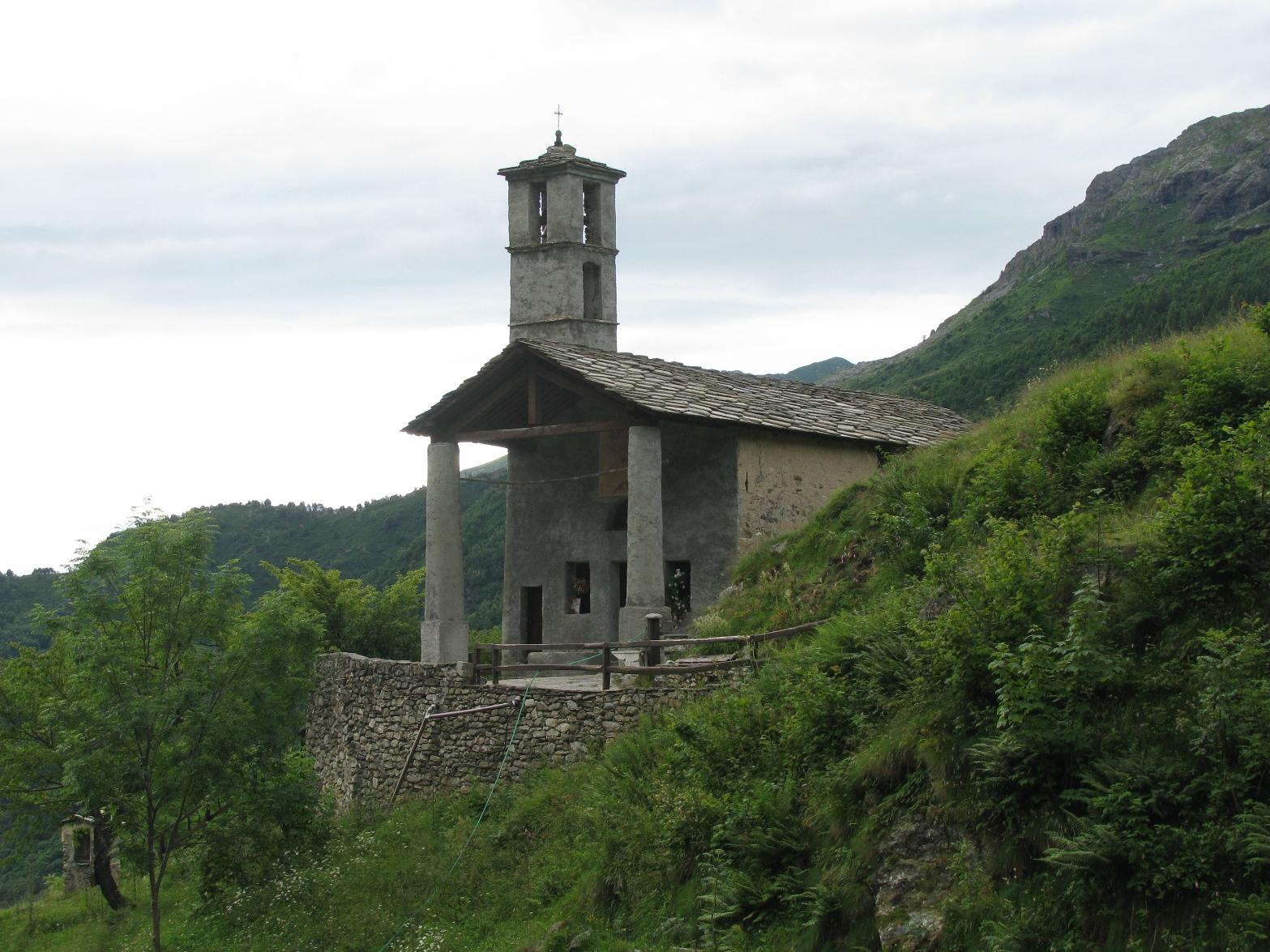 Cambrelle: chiesa di San Vito