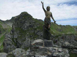 Il Cristo delle Vette della Valsoana