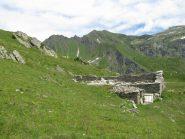 Grange Belvedere, Punta Santanel e Monte Facciabella