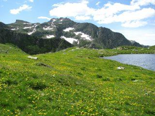 Lago santanel e Monte Marzo