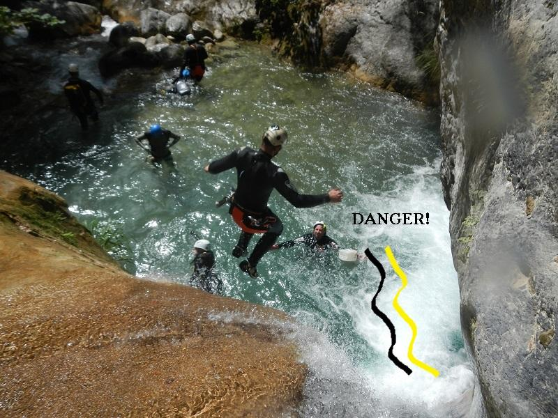 danger! vietato saltare
