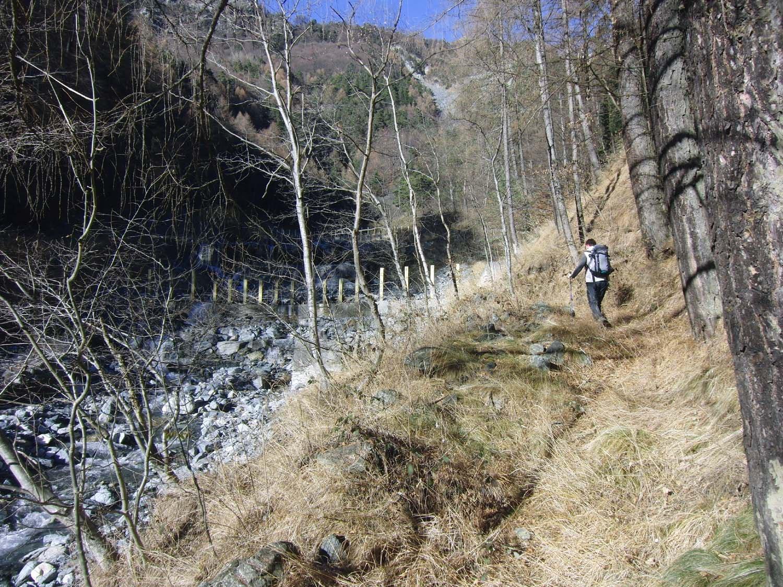 Cruvin (Alpe) da Pavaglione, anello per Maffiotto per l'Alta Via Valsusa 2016-12-18
