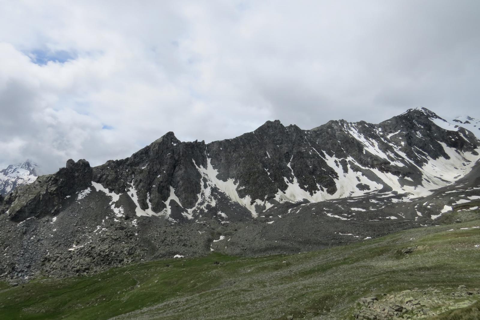 Le Punte delle Meyes o Cresta dell'Auillié